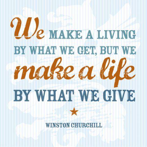 Mei: geven vanuit het hart